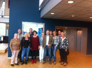 CDA Vrouwen uit Huizen op bezoek bij waterschap Amstel, Gooi en Vechtstreek