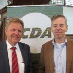Jaap Bond en Wim Zwanenburg samen op de foto