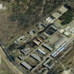 Terrein waar het oefencentrum Crailo gevestigd zal worden.