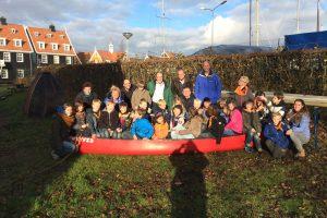 CDA Huizen fractie brengt werkbezoek aan scouting Flevo
