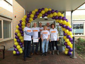 CDA Huizen actief bij Voor Anker voor NL Doet 2015.