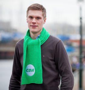 Dennis Heijnen is de regionale kandidaat voor CDA Noord-Holland. Stem 18 maart, Stem op nummer 7.