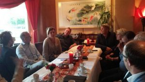 De CDA fractie in gesprek met bestuur winkelcentrum Oostermeent.