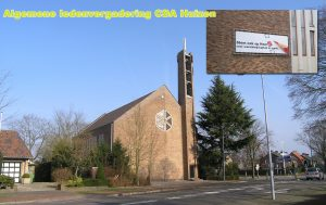 Algemene ledenvergadering CDA Huizen in de kruiskerk