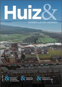 Voorblad van de tweede editie van het Huiz& magazine.