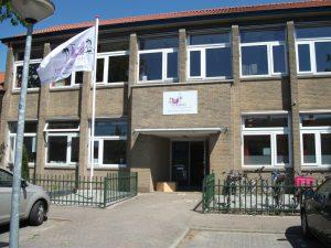 Huidige locatie van basisschool De Wijngaard.